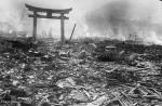 Nagasaki Fires. Photo by Yusike Yamahata.